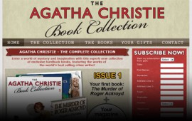 Agatha Christie Book Collection website