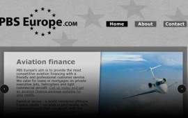 PBS Europe - Marine & Aviation Finance website