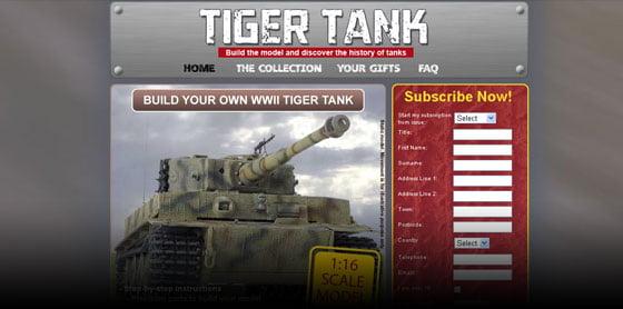 Tiger Tank website