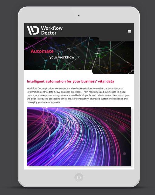 Wordpress Web Design Agency - Dr Flow Business B2B